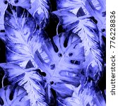 watercolor seamless pattern...   Shutterstock . vector #776228836