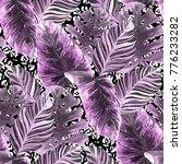 watercolor seamless pattern... | Shutterstock . vector #776233282