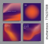set of abstract backgrounds...   Shutterstock .eps vector #776237008