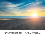 empty asphalt highway and blue... | Shutterstock . vector #776279062