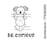 kids card design. be curious... | Shutterstock .eps vector #776282092