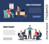 two horizontal psychologist... | Shutterstock . vector #776286925
