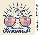 summer adventures   vector... | Shutterstock .eps vector #776293312