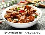 non veg food concept  beef... | Shutterstock . vector #776293792