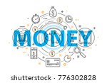 banking service and finance... | Shutterstock .eps vector #776302828