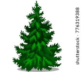 christmas tree isolated on... | Shutterstock .eps vector #776319388