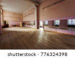 interior of old abandoned gym... | Shutterstock . vector #776324398
