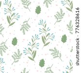 seamless pattern with valentine'... | Shutterstock .eps vector #776328616