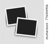 photo frame isolated with... | Shutterstock . vector #776344906