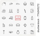 fashion line icons set | Shutterstock .eps vector #776345272