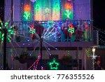 christmas light at slade point... | Shutterstock . vector #776355526