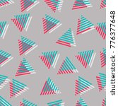 triangle pattern. triangular... | Shutterstock .eps vector #776377648