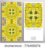 set of decorative backgrounds... | Shutterstock .eps vector #776400076