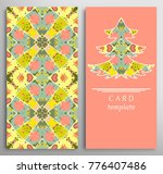 set of colorful decorative... | Shutterstock .eps vector #776407486