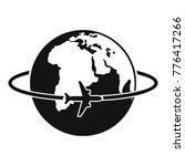 worldwide icon. simple... | Shutterstock .eps vector #776417266