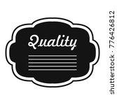grade label icon. simple... | Shutterstock .eps vector #776426812