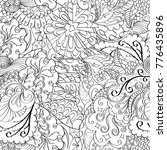 tracery seamless pattern.... | Shutterstock .eps vector #776435896