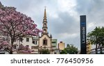Liberdade Square And Church In...