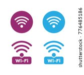 wireless and wifi icons.... | Shutterstock .eps vector #776485186
