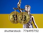 symbol of law and justice ... | Shutterstock . vector #776495752