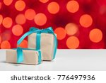 gift on the table | Shutterstock . vector #776497936