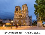 Notre Dame Cathedral In Paris...