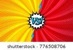 comic versus horizontal... | Shutterstock .eps vector #776508706