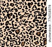 leopard pattern background... | Shutterstock .eps vector #776518378