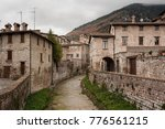 gubbio  one of the most... | Shutterstock . vector #776561215