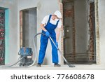 cleaning service. dust removal... | Shutterstock . vector #776608678