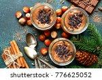 homemade festive chocolate... | Shutterstock . vector #776625052