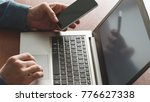 two factor authentication.... | Shutterstock . vector #776627338