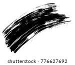 vector artistic freehand black... | Shutterstock .eps vector #776627692