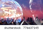 internet of things disruption...   Shutterstock . vector #776637145