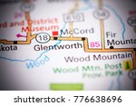 glentworth. canada on a map.   Shutterstock . vector #776638696