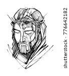 hand drawn vector illustration... | Shutterstock .eps vector #776642182