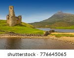 Ardvreck Castle On The Shores...
