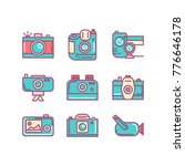 camera  video camera and more ...   Shutterstock .eps vector #776646178