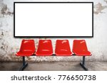 blank advertising billboard or... | Shutterstock . vector #776650738