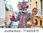 venice carnival 2017. venetian... | Shutterstock . vector #776651875