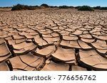 dry cracked earth   namib... | Shutterstock . vector #776656762