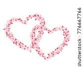 petals heart love and marriage... | Shutterstock .eps vector #776667766
