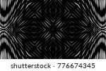 black white abstract metallic... | Shutterstock . vector #776674345