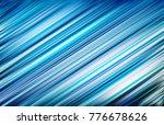 abstract blue white motion blur ... | Shutterstock .eps vector #776678626