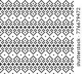 pixel geometric seamless... | Shutterstock .eps vector #776679472
