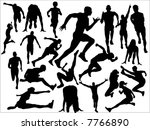 track and field | Shutterstock .eps vector #7766890