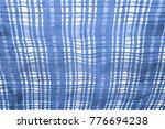 background texture. silk fabric ... | Shutterstock . vector #776694238