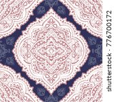 indian rug paisley ornament...   Shutterstock .eps vector #776700172