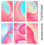 abstract fluid pastel colorful... | Shutterstock .eps vector #776701042