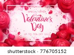 happy holidays  valentines day... | Shutterstock .eps vector #776705152